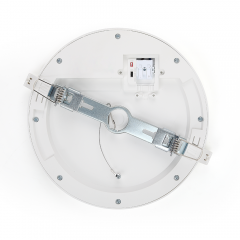 Dual power presettable 3 cct multifunction downlight